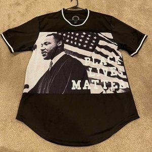 Black Lives Matter Martin Luther King Graphic Top